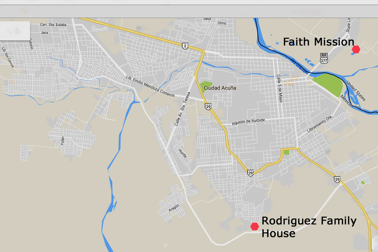 Rodriguez Family House Map